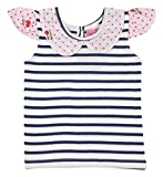 Always Kids Baby Girls' Regular Fit T-Shirt (Eve Tee Navy 2Y-$P, Blue, 18-24 Months)