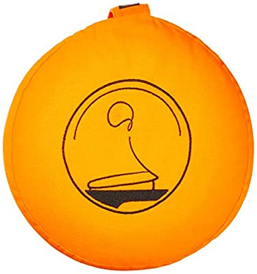 Dehnfalten für ein erstklassiges Sitzgefühl - Meditationskissen Zafu von KlarGeist® xxx jetzt 30 Tage KOSTENLOS TESTEN! xxx - Yogakissen