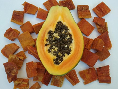 Mera 1kg Getrocknete Papaya, natur, ohne Zusätze