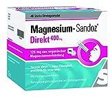 Magnesium Sandoz Direkt 400 mg Sticks 48 stk