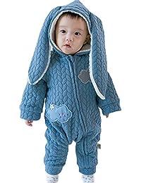 EOZY Pyjama Combinaison Bébé Capuche Chaude Hiver Costume Lapin Mignon