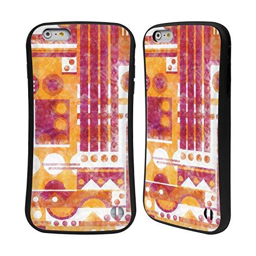 Ufficiale Shelly Bremmer Blu Geometrico Case Ibrida per Apple iPhone 7 Plus / 8 Plus Sentiero