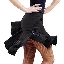 YI NA SHENG WU faldas de cuerpo negro Faldas de baile latino faldas pantalones de seguridad