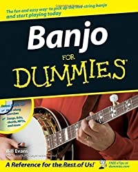 Banjo For Dummies (Book And Cd) Bjo by Evans, Bill Pap/Cdr edition (2007)