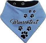 KLEINER FRATZ beidseitiges Multicolor Hundehalstuch Wendehalstuch für Hund