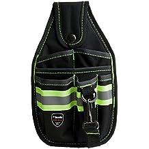 KWB 49909610 - Bolsa porta herramientas para cinturón (lazo para martillo, con mosquetón)