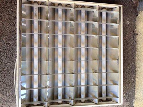 lanzini-lanzini-struttura-da-incasso-a-armstrong-soffitto-per-4-tubi-fluorescenti-t8-18w-non-incluso