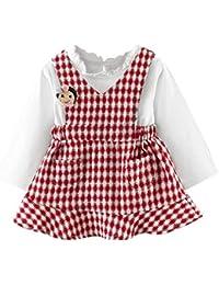 Amazon.it  tutine neonato invernali - Bambine e ragazze  Abbigliamento 630887a9028