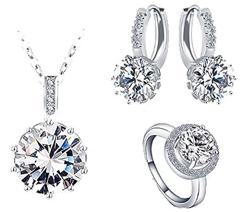 SaySure - Luxury Classical Women Jewelry Set Designer (SIZE :