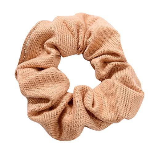 LILIHOT Frauen Elastisches Haar Seil Ring Krawatte Scrunchie Pferdeschwanz Inhaber Haarband Stirnband Samt Haargummis Dicke Haarband Haarbänder Gummiband Haarschmuck Haar Accessoires Haargummi -
