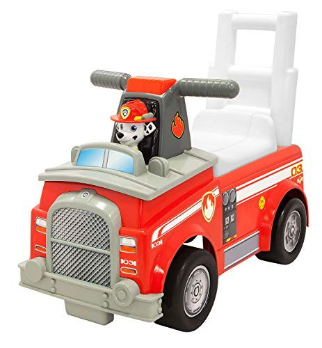 PAW PATROL 55596 Marshall Camión de Bomberos, Color Rojo
