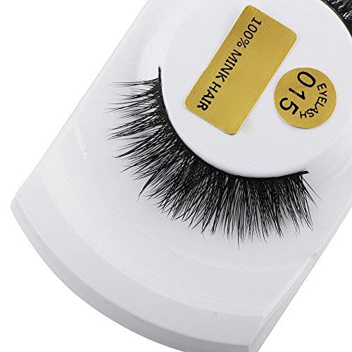 Momoxi 3D Wimpern Nerz Natürliche Dicke Falsche Wimpern Wimpern Makeup Extensions