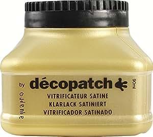 Décopatch - VA90AO - Vitrificateur Ultra Satiné - 90 Ml