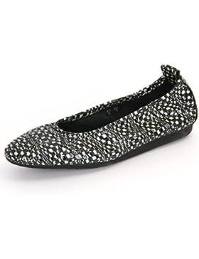 Arche Laius Granite, Ballerine donna nero Granite