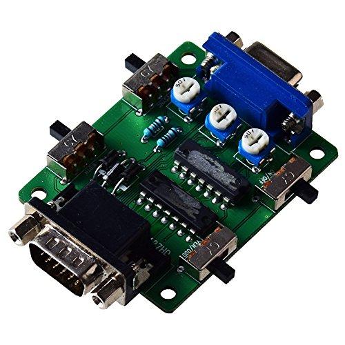 Mcbazel Scan-Linie Video-Effekt-Generator Scanline Generator VGA-Anschluss Für alle Retro-Spiele / Gamer / Mame / Arcade / Emulator -