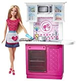 Barbie Doll and Deluxe Kitchen Set, Multi Colour - Best Reviews Guide