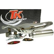 Turbo Kit Carreras 80cromo Tubo de escape para Yamaha DT 50, TZR 50Am6
