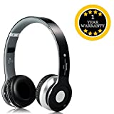 #4: S450 Bluetooth Wired & Wireless Headphones with Tf Card/Mic Compatible with Xiaomi, Lenovo, Apple, Samsung, Sony, Oppo, Gionee, Vivo Smartphones (One Year Warranty)- by TECHPOOL
