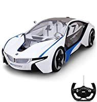 Telecomando RC auto IM BMW i8 vision design - Edizione Speciale incorporato con led blu - RC auto IM Original lizenziertem Top di design - Ready to Drive - immediatamente pronta all' uso - Estremamente fedele all' originale dal concetto di Auto di B...