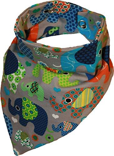 Pañuelo para el cuello impermeable, diseño de elefantes