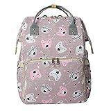 Snakell Tragen Sie Farbe Baby Wickelrucksack Wickeltasche Babytasche,Wasserdicht Oxford Große Kapazität für ausgehen,Multifunktional zum Rucksack mit Changing Bag Backpack