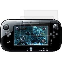 AFUNTA Protectores de Pantalla para Nintendo Wii U Gamepad, 3 Pack Anti-rasca HD Clear Pet Películas Escudos para Pantalla LCD