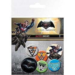 GB Eye Ltd, Batman Vs Superman, Mix, Pack de Chapas