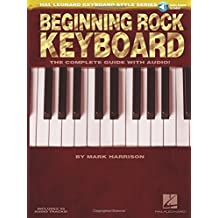 Hal Leonard Keyboard Style Beginning Rock Keyboard Book/Cd