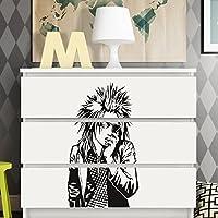 perGrandora W5248 adesivo murale Manga giovani adatto a IKEA HEMNES