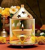 #10: Borosil Akhand Diya (Small, Brass)