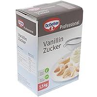 Dr. Oetker Professional Vanillin-Zucker, 1er Pack (1 x 1,5 kg)