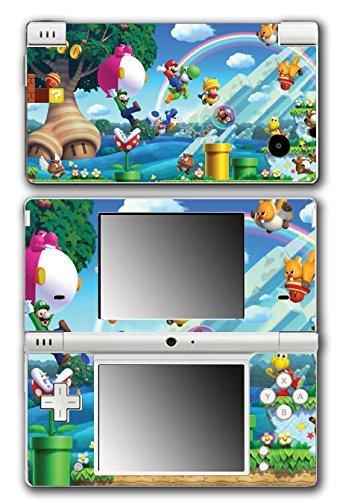 New Super Mario Bros 2 3D Land World Luigi Goomba Video Game Vinyl Decal Skin Sticker Cover for Nintendo DSi System by Vinyl Skin Designs (Mario 3d Land Für Nintendo Ds)
