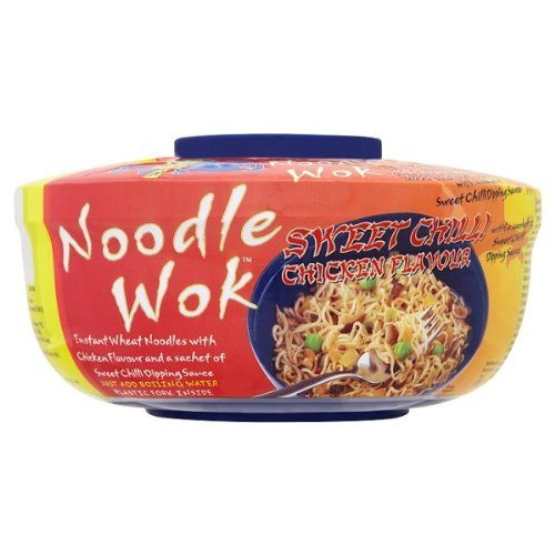 Blue Dragon Noodle Wok dolce Chilli Chicken Sapore - 3 x 76gm