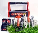 Werkzeugkoffer mit Griff, 28-teilig für Kinder