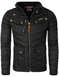 Geographical Norway - Doudoune Homme Geographical Norway Amida No Hood Noir