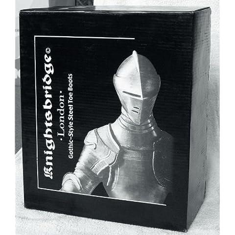 30 Buchi Rangers Stivali Knightsbridge stivali nero con Cappa in acciaio - Taglia 10