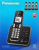 Panasonic KX-TGD325EB Quintet Numériques Sans Fil TéléPhone avec Répondeur