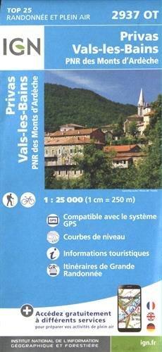 Privas / Vals-les-Bains gps