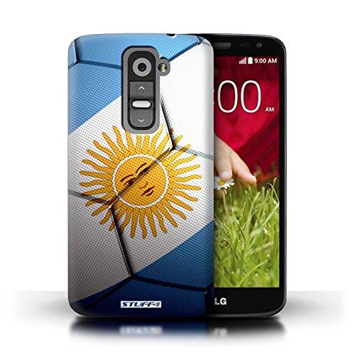 Kobalt® Imprimé Etui / Coque pour LG G2 Mini/D620 / Angleterre conception / Série Nations de Football Argentine