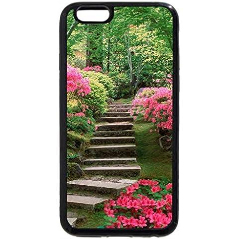 iPhone 6S/iPhone 6(Black) Azaleas Jardín