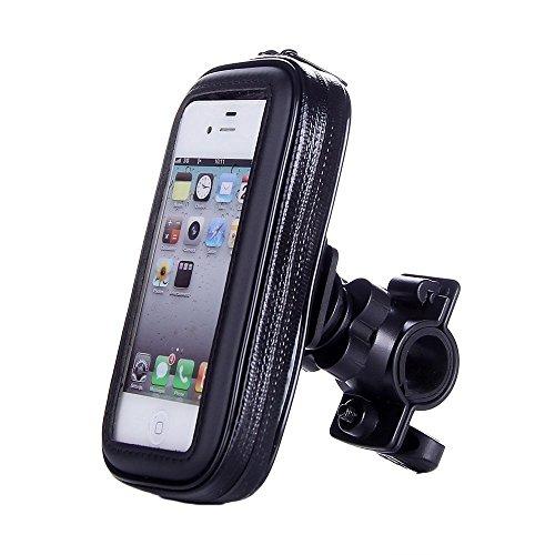 VicTsing Motorrad-Halterung und Schutzhülle (Wasserfest, für iPhone Samsung Galaxy S4 S3 HTC One M7 Sony Nokia BlackBerry Smartphones) -