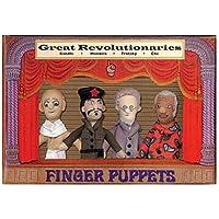 révolutionnaire marionnettes à doigt mis