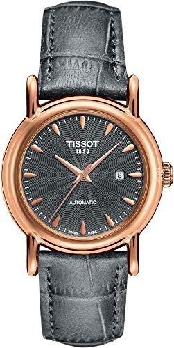 Tissot Analog Uhr mit Leder Armband T907.007.76.081.00