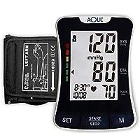 AOUL BP-1307 Tensiómetro de brazo digital con detección del pulso arrítmico, Automático profesional