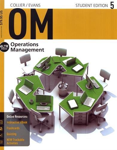 OM5 : Operations Management par David A. Collier