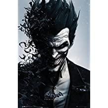 DC Comics Batman Arkham Origins Joker Póster