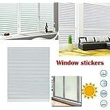 [Sponsored]TOTAL HOME :Home Static Cling Window Sun Shade Film No Glue Self Adhesive Decorative Sticker