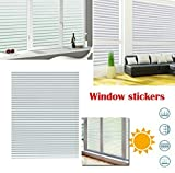 TOTAL HOME :Home Static Cling Window Sun Shade Film No Glue Self Adhesive Decorative Sticker