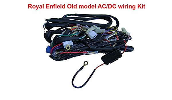 Royal Enfield Old Model AC/DC Wiring Kit: Amazon.in: Car & Motorbike