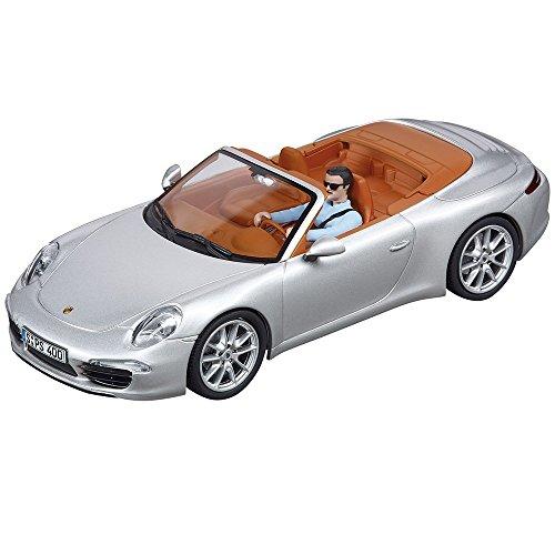Carrera 20030773 - Digital 132 Porsche 911 Carrera S Cabriolet (silber) (Slot Car Carrera 1 32)